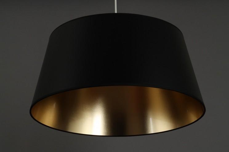 h ngelampe schwarz gold 50cm metropol l i c h t s c h e u. Black Bedroom Furniture Sets. Home Design Ideas